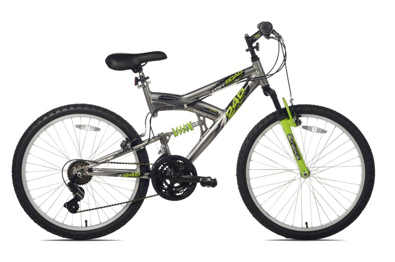 Northwoods Aluminum Full Suspension Mountain Bike With Images