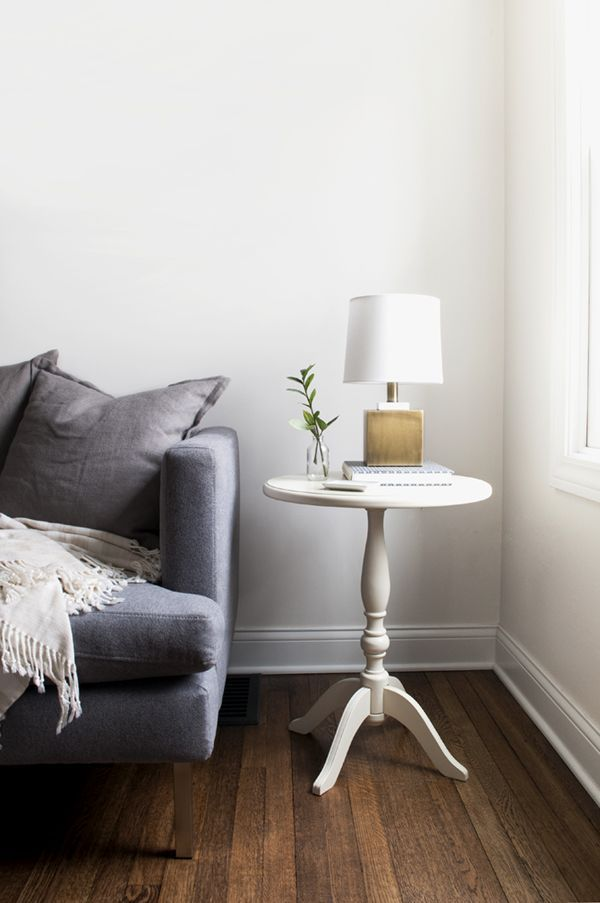 modern traditional - how to style your side table | living rooms ...