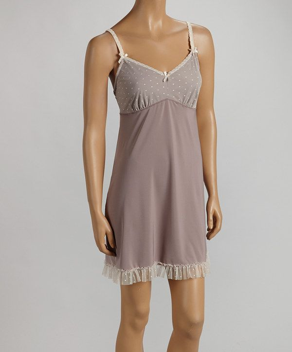 d9f1e3dcc037 Eclipse Galloon Lace Chemise - Women by Marilyn Monroe Intimates #zulily  #zulilyfinds