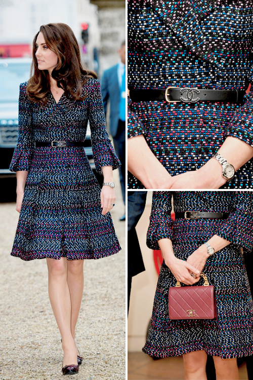 catherinemiddletonmafia: Duchess of Cambridge in Chanel, March 18, 2017
