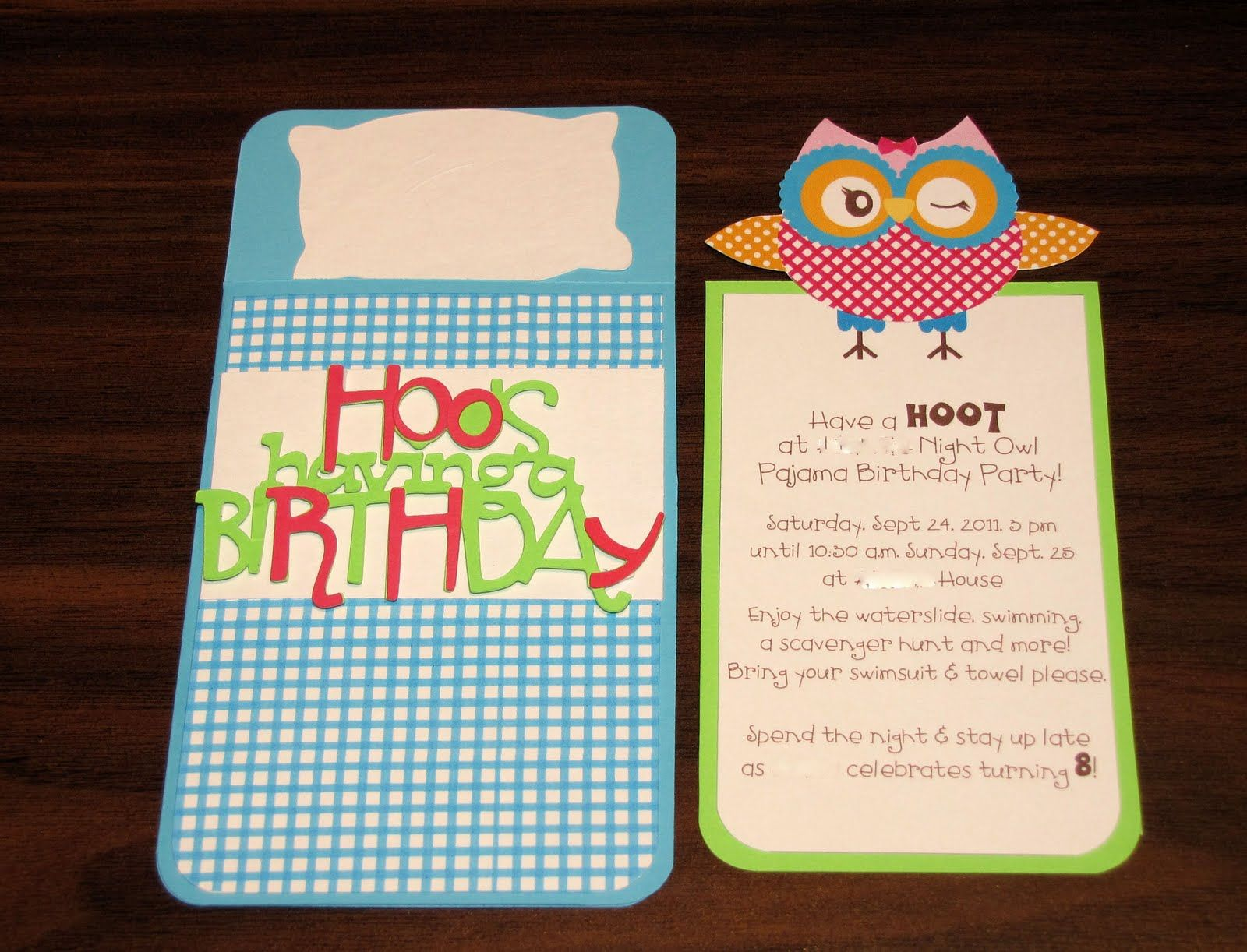 night owl party invitations | Owl+Party+Invitations+-+sleeping+bag+ ...