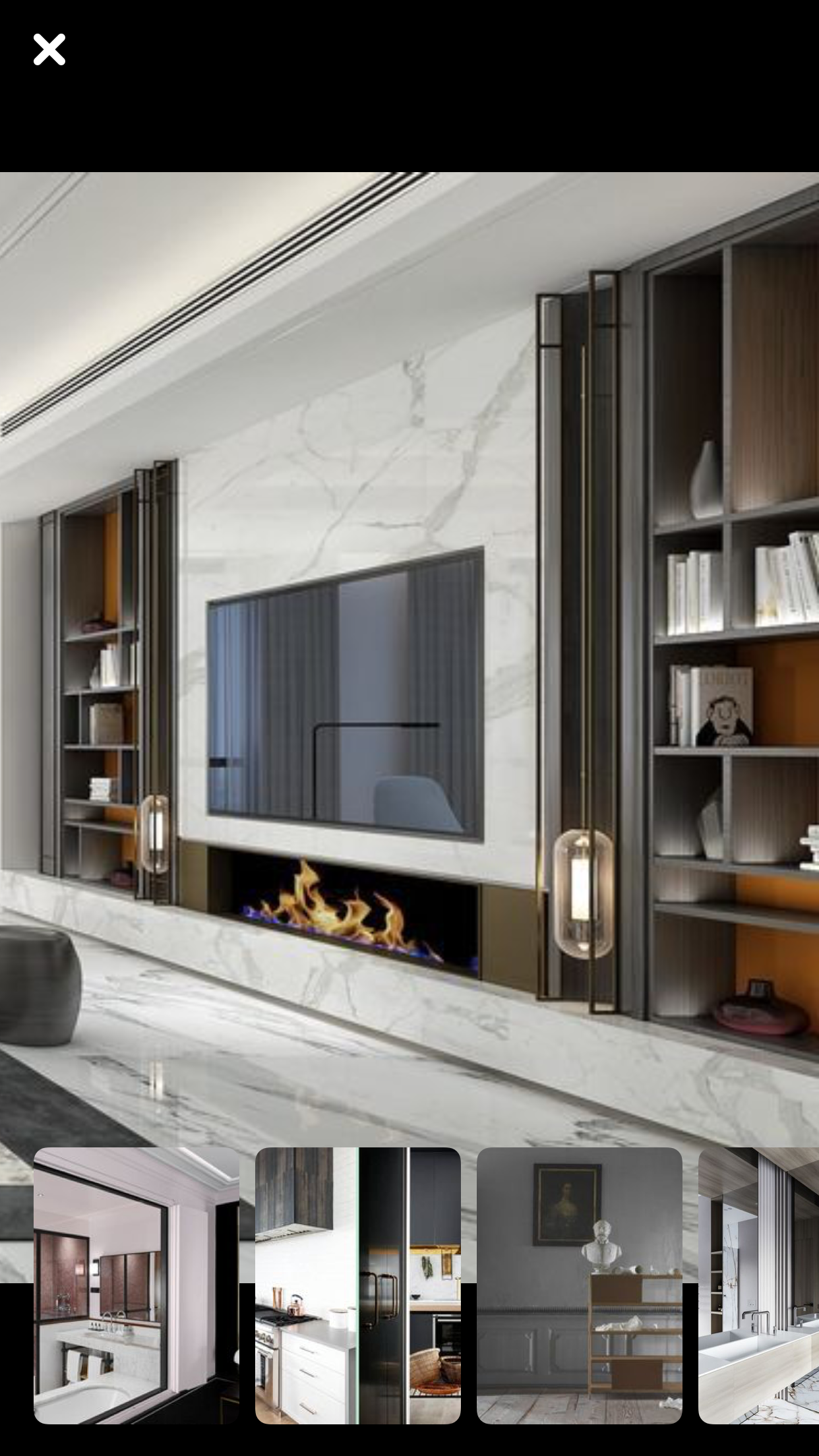 This Is Not Bad The Fireplace Wall/storage In 2019