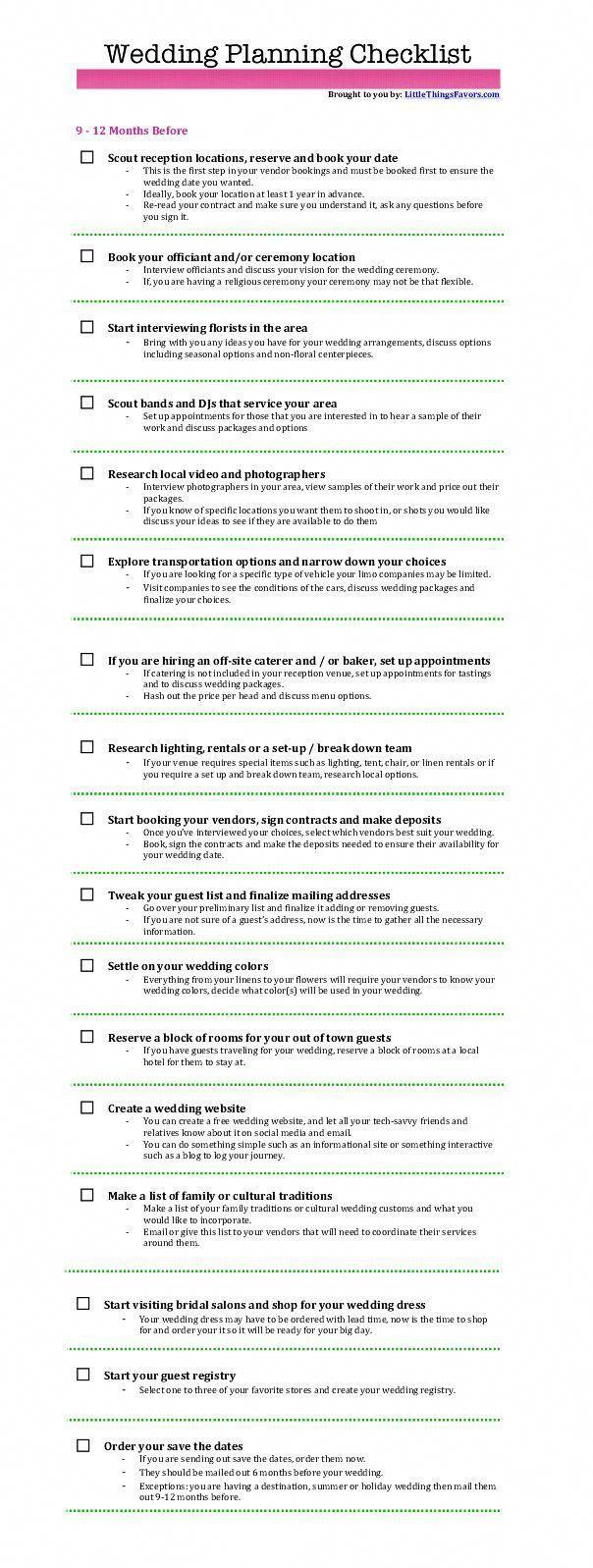 wedding day checklist weddingdaychecklist Wedding