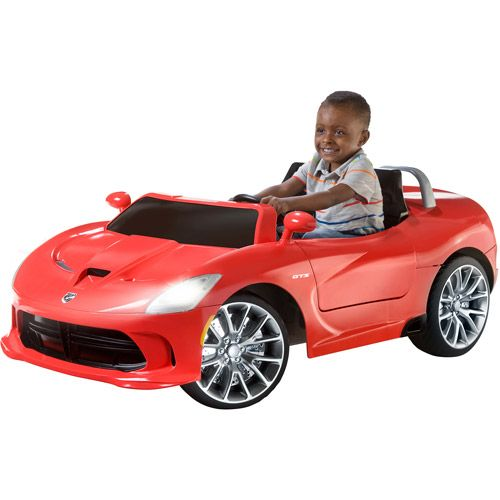 Walmart Kid Trax Srt Viper 16 Volt Battery Powered Ride On Ride