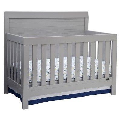 Target grey crib | Cribs, Baby cribs, Grey crib