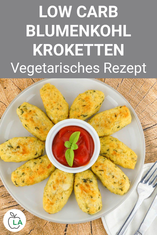 Photo of Low Carb Blumenkohl-Kroketten – Vegetarisches Diät-Rezept