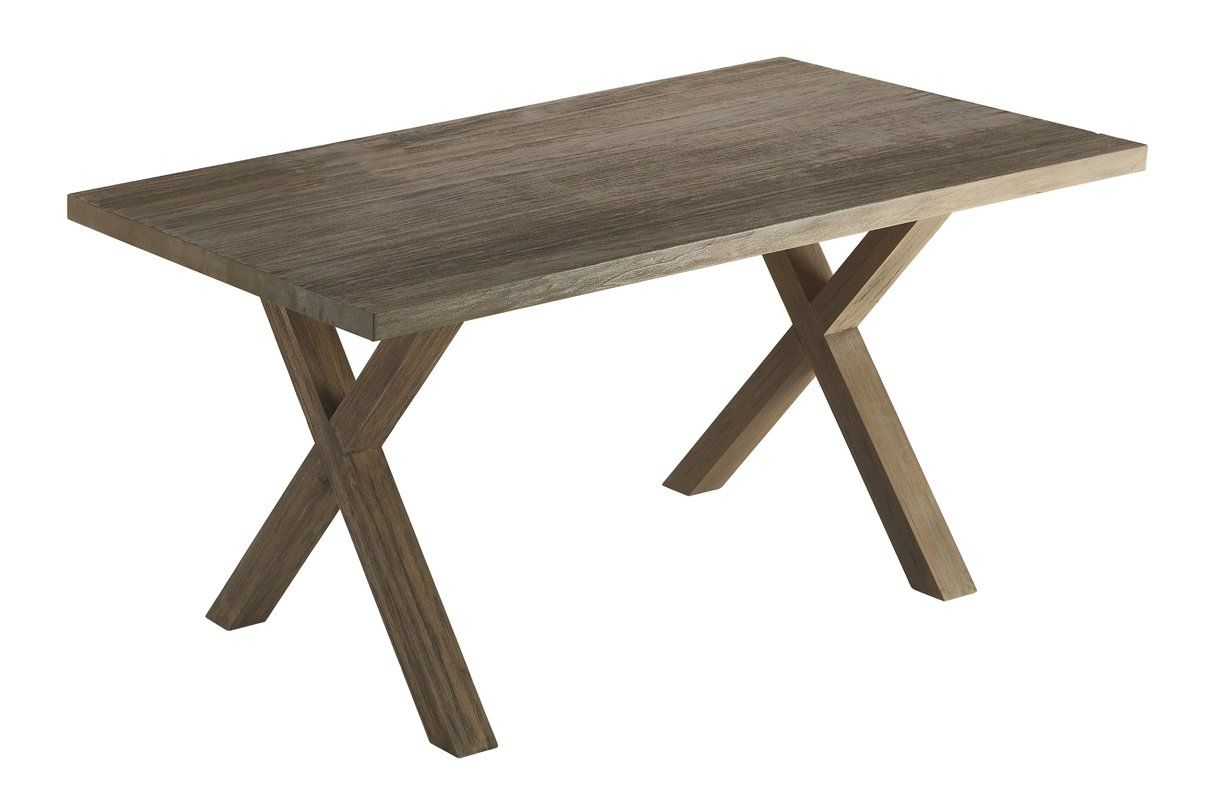 Lark Manor Atchison Solid Wood Dining Table Reviews Wayfair