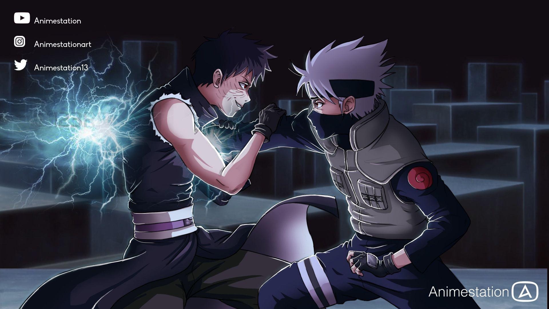 Kakashi Vs Obito Naruto Shippuden Anime Kakashi Naruto Shippuden Hd