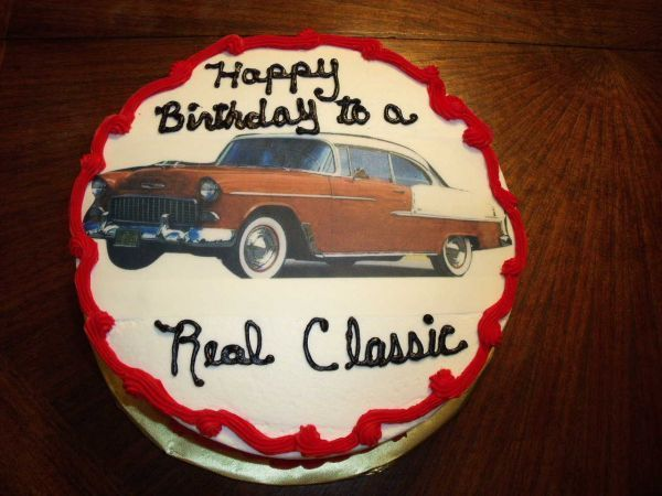 Classic Car For A Classic Man This was a marble cake with mocha