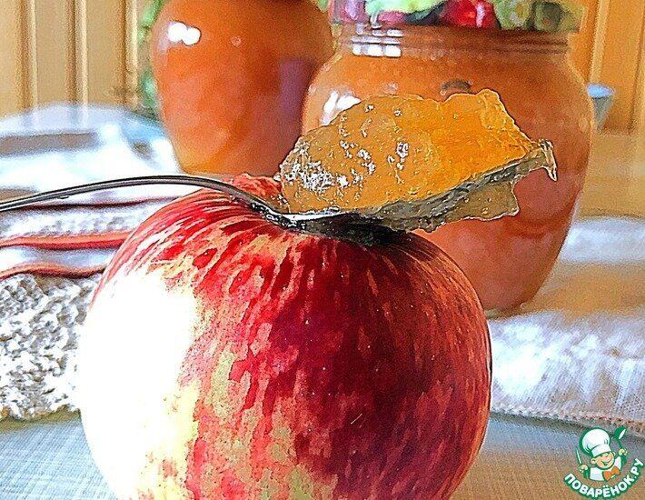 повидло из яблок поваренок