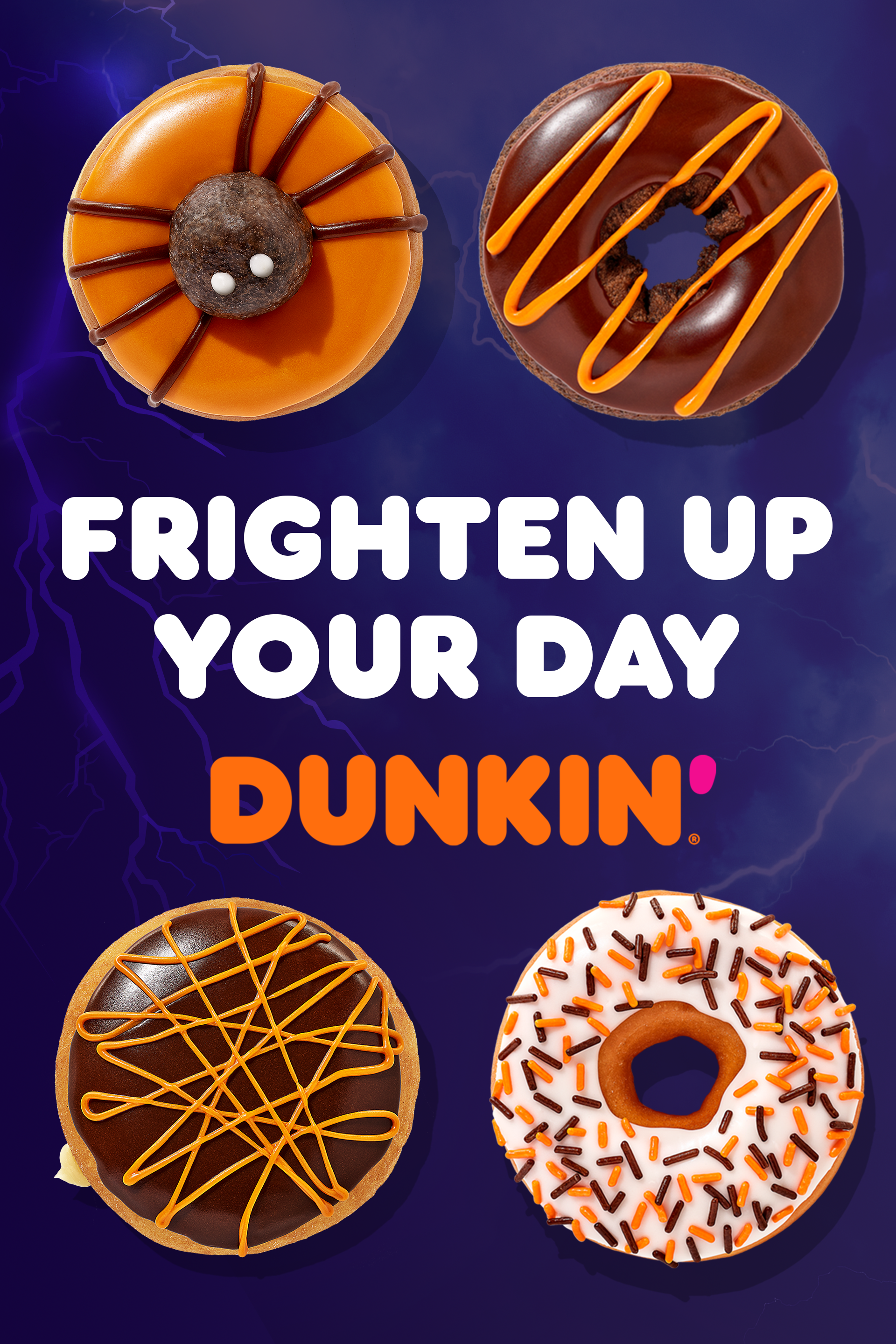 Halloween Donuts Are Back At Dunkin Halloween Donuts Dunkin Halloween School Treats