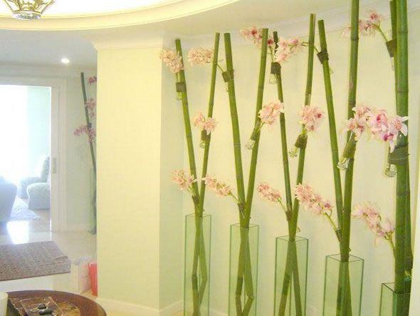 Decorar con cañas de bambú Almohadas Pinterest - decoracion con bambu