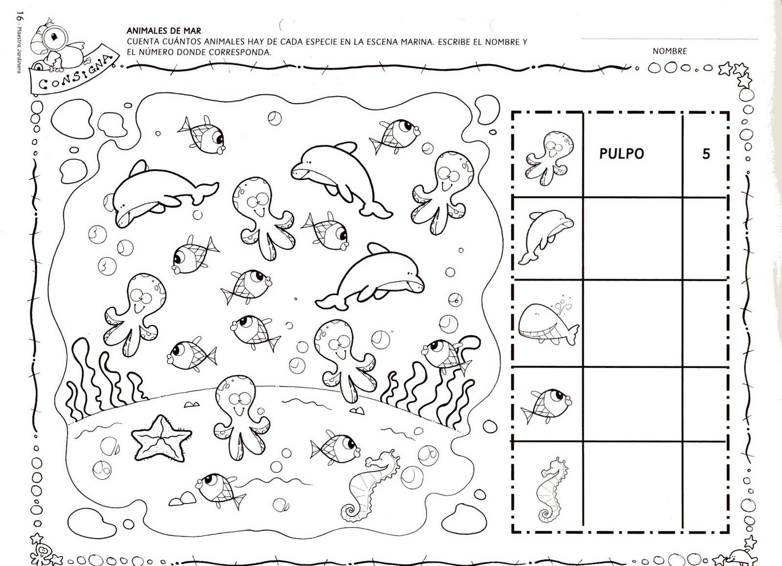 Ocean Pattern Worksheets Worksheets for all | Download and Share ...