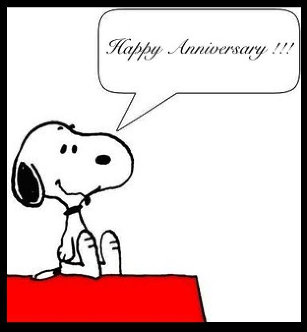 Immagini Snoopy Anniversario Matrimonio.Happy Anniversary Frasi Belle