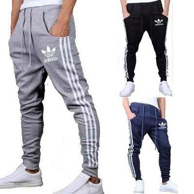 Pantalon Jogging Chupin Hombre Adidas Babucha Deportivo Gym