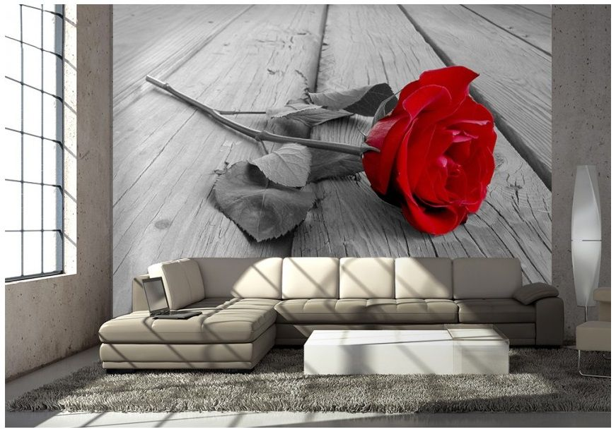 Murals For Walls wall murals for home walls in large size. red rose flower