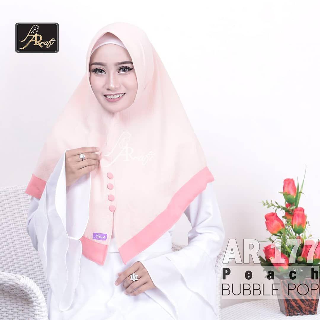 Wa 081 542 846 069 Hijab Ar Rafi Ar 177 Bahan Bubble Pop Harga 79 500 Member Disc 20 Reseller Disc 10 Megahijab Adalah Toko Hijab Jilbab Online Jilbab