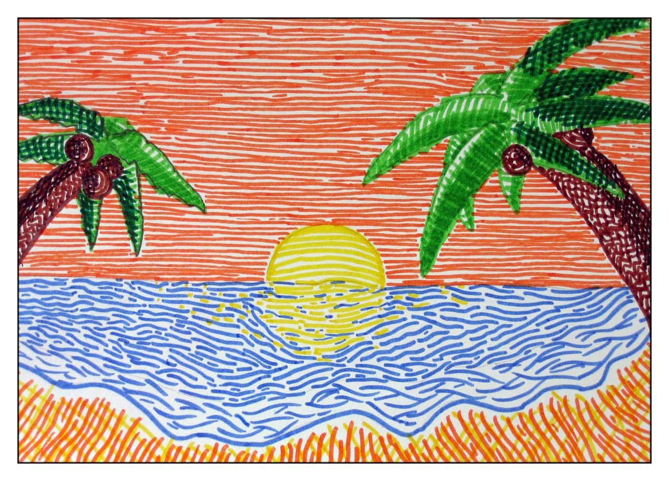 Ejercicios Sobre La Línea Imagenesola Imagen Y La Educacion Plastica Y Visual En La Educacón Secundaria Trabajos De Arte Dibujo Con Lineas Proyectos De Arte