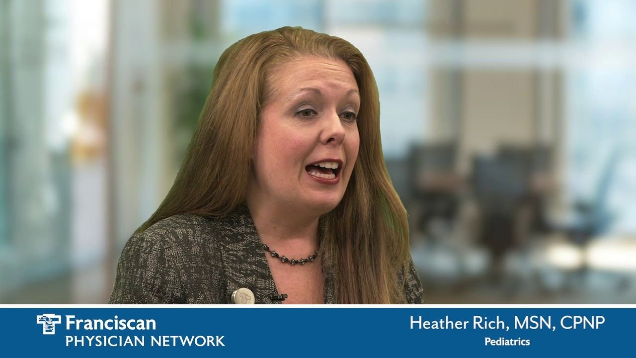 Heather rich is a nurse practitioner who specializes in