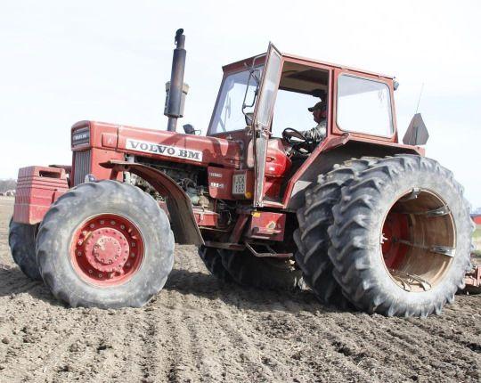 volvo bm 814 in the new traktor power | biçerdöver - traktör