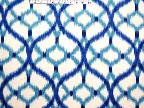 Waverly Izmir Ikat Aegean 675402 Upholstery Drapery Fabric