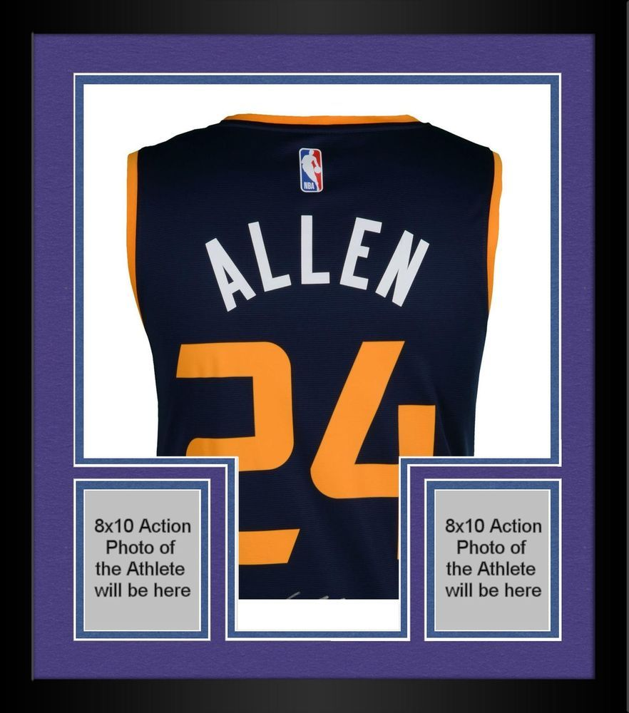 reputable site 128b1 a45df Framed Grayson Allen Utah Jazz Autographed Fanatics Blue ...