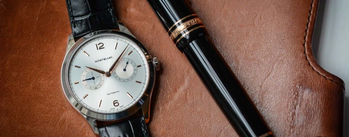 Pre-SIHH 2016 - Montblanc Heritage Chronometrie Date by Hand (hands-on review, specs & price) - Monochrome Watches