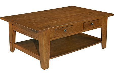 Attic Heirlooms Rectangular Cocktail Table 3397 01S from