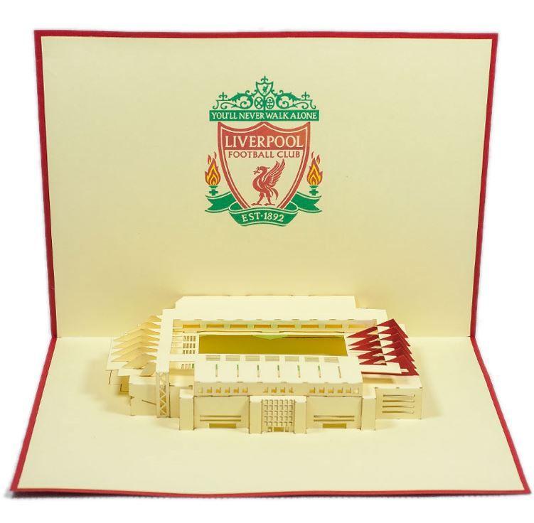 Liverpool F.C Pop Up Birthday Card