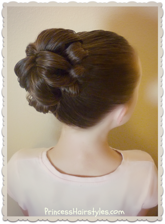 Topsy Tail Bun Tutorial | Topsy tail hairstyles, Dance ...