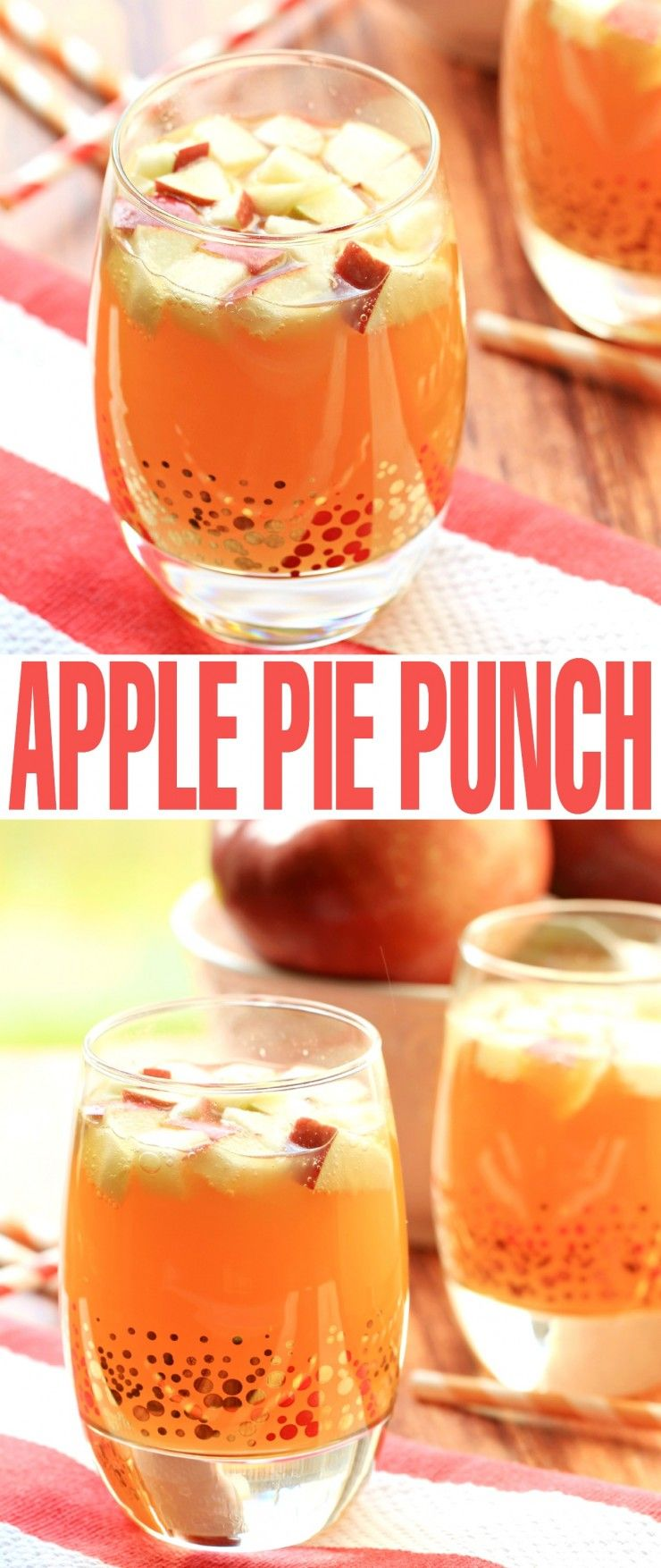 Non Alcoholic Apple Pie Punch - Frugal Mom Eh!