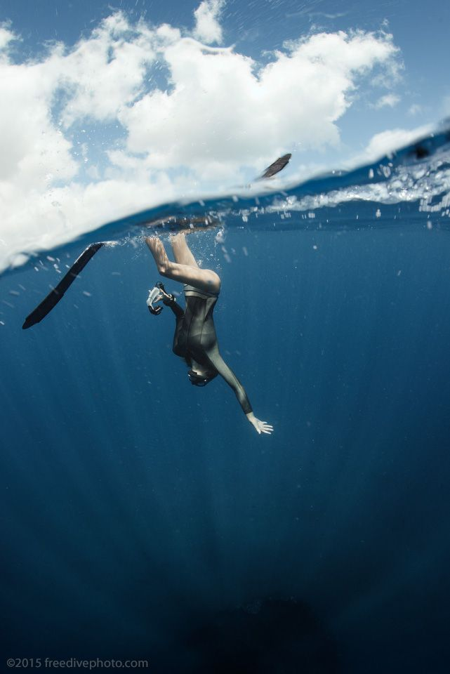 Royalty Free Underwater Women Naked Diving Pictures
