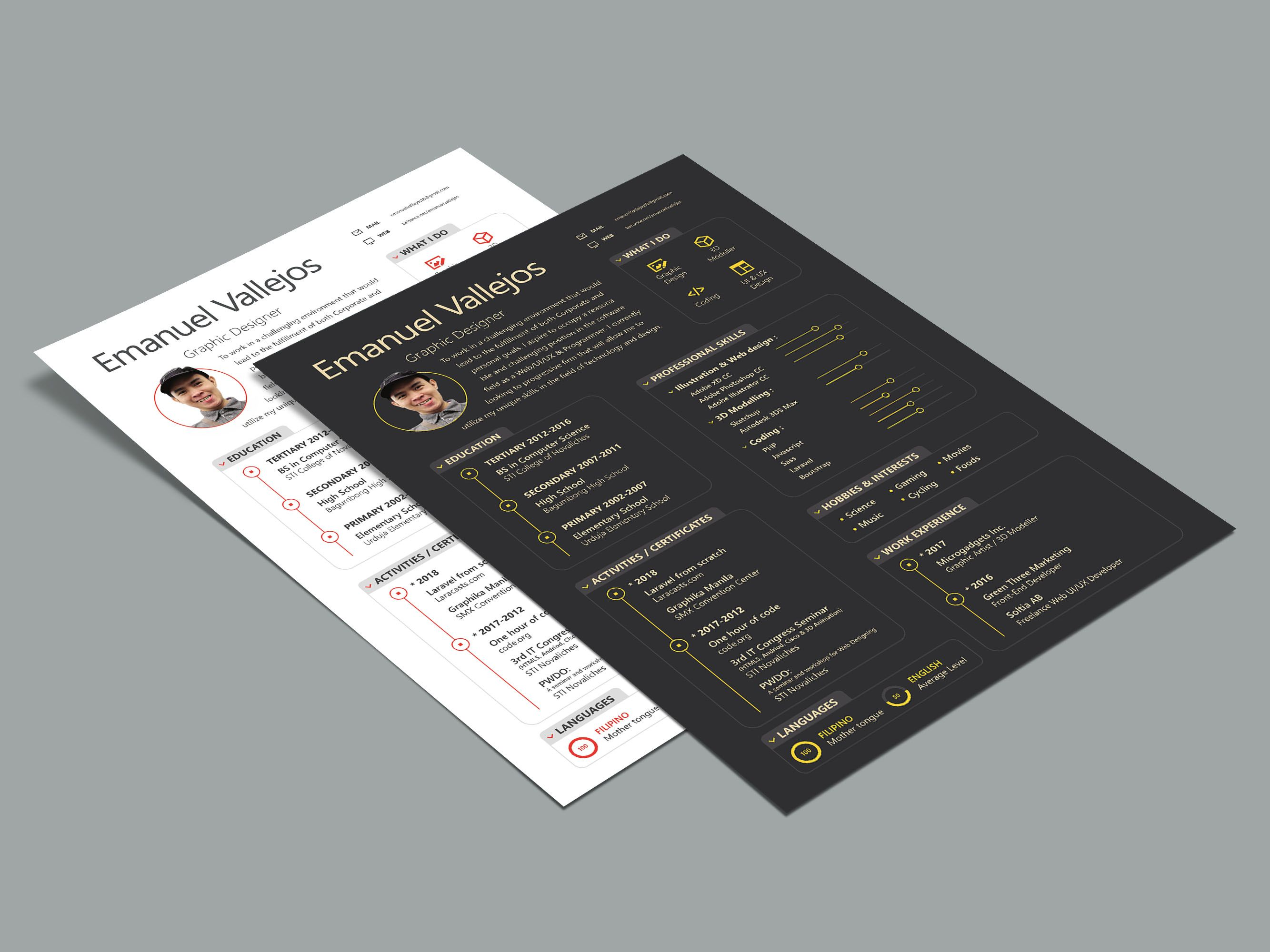 Free Illustrator Resume Template Resume Template Creative Resume Template Free Resume Template Free
