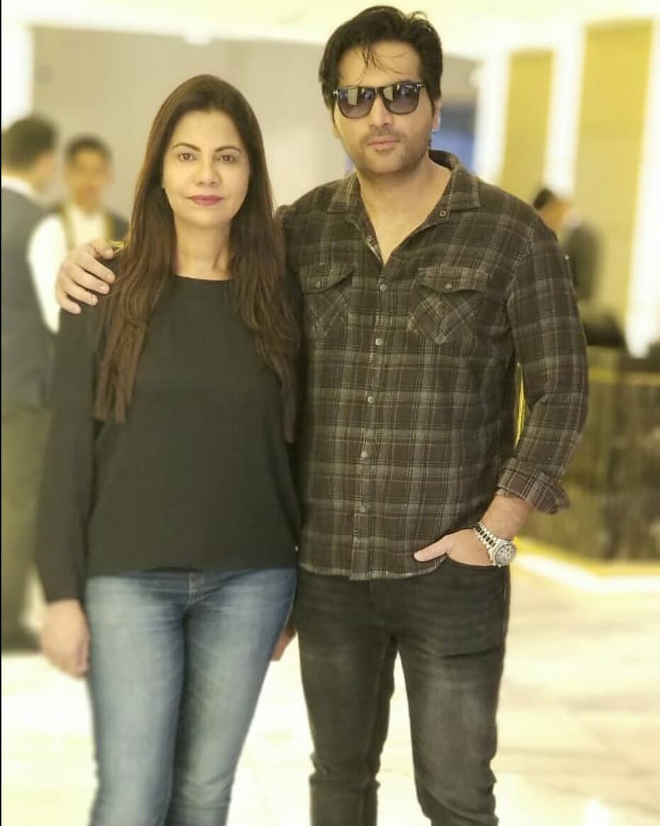 Celebrity Marriages Of 2019: New Awesome Photos Of Humayun Saeed With His Wife Samina
