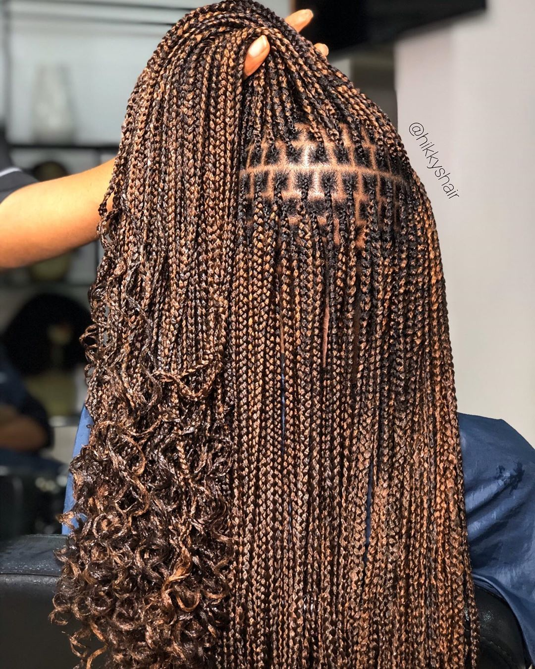 Hikky S Hair Studio On Instagram When In Doubt Get Braided At Thehikkyshairstudi Braided Hairstyles African Hair Braiding Styles Braids Hairstyles Pictures