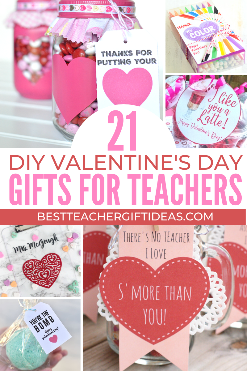 Cute Diy Gift Ideas For Valentine S Day Lilostyle In 2020 Teacher Valentine Gifts Diy Teacher Gifts Valentines Diy Kids
