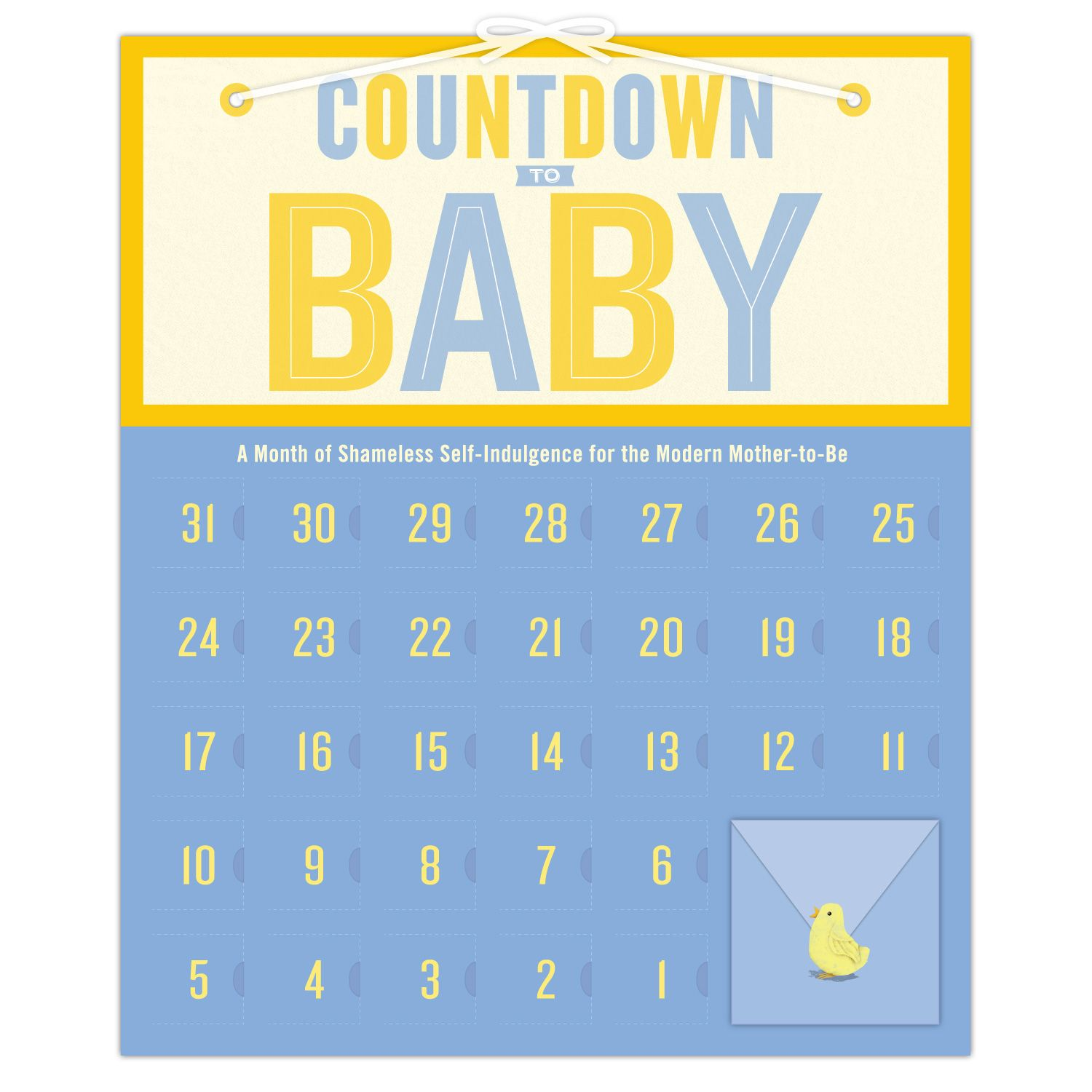 Knock Knocks Baby Countdown Calendars Are Perfect Just Pregnant