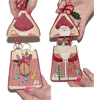 Pere Noel A Santa Scissor Keeper And Pin Holder From Dessins