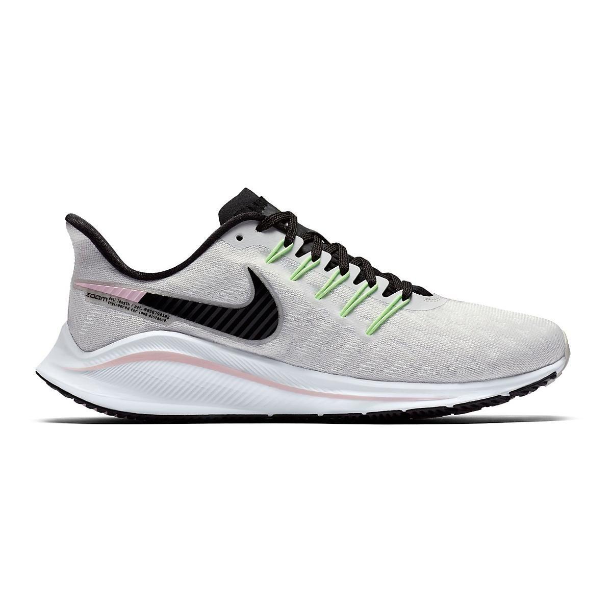 Women S Nike Air Zoom Vomero 14 Running Shoes Running Shoes Grey Top Running Shoes Nike Air Zoom