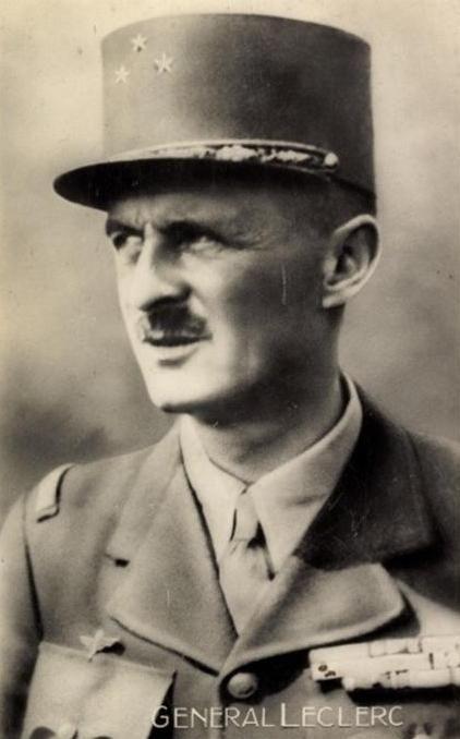 Philippe Leclerc De Hauteclocque Guerre 2eme Guerre