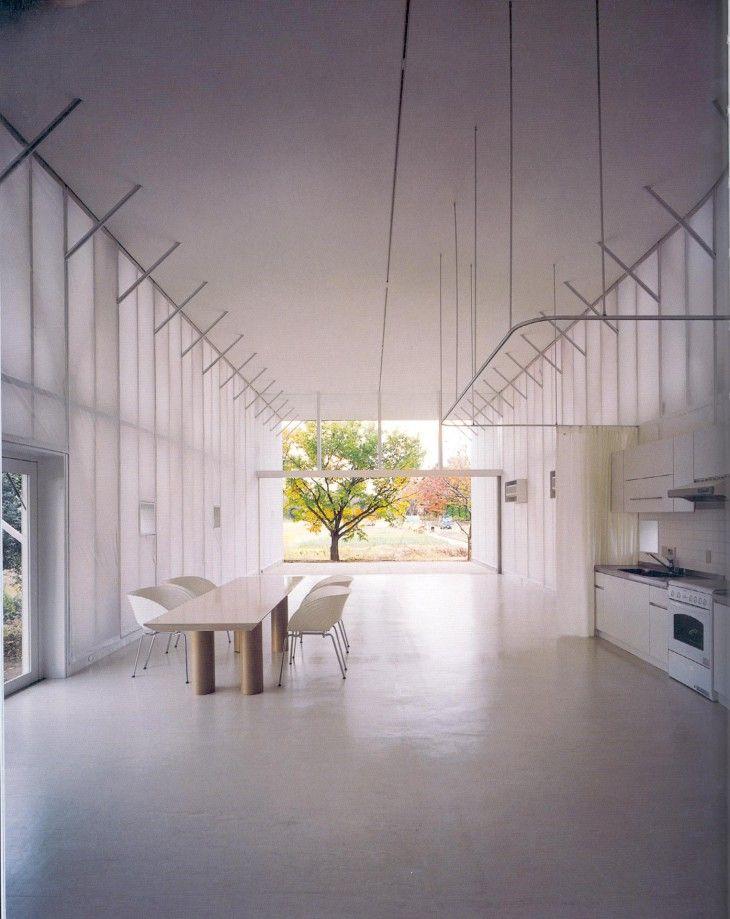 Naked house. Shigeru Ban