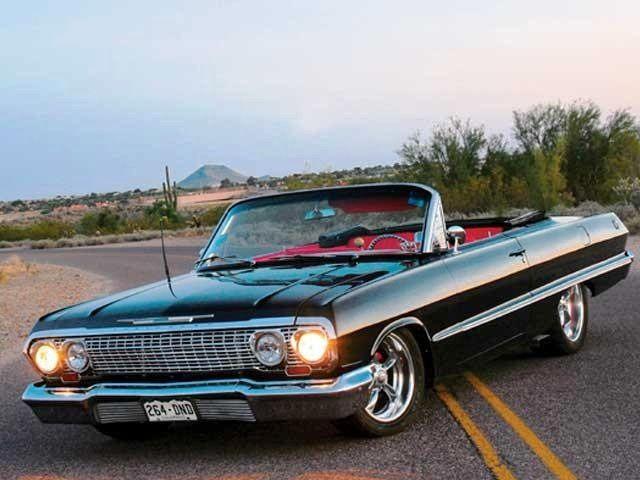 64 Chevy Impala Convertible Oldtimers Nostalgie