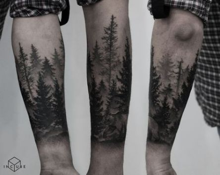 Photo of 17+ Ideas tattoo mountain tree forests