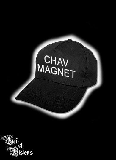 e116db61803ff Black baseball cap with text. £8