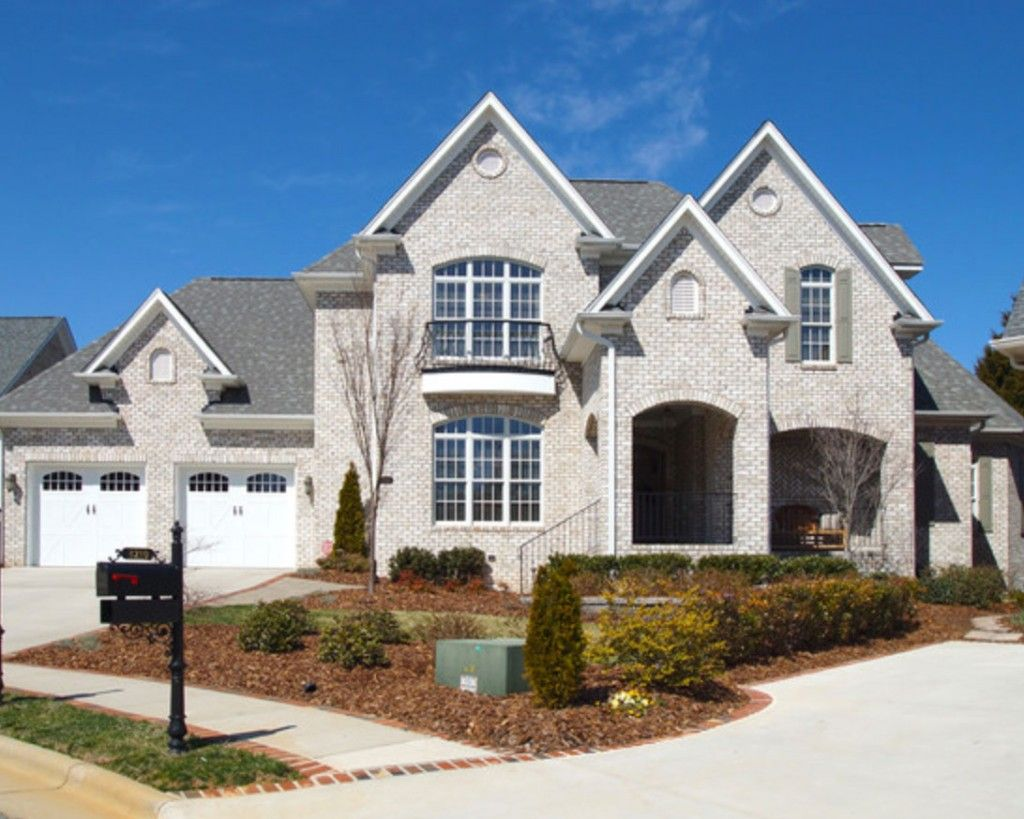 Best Homeowner's Blog White Brick Houses Exterior House 400 x 300