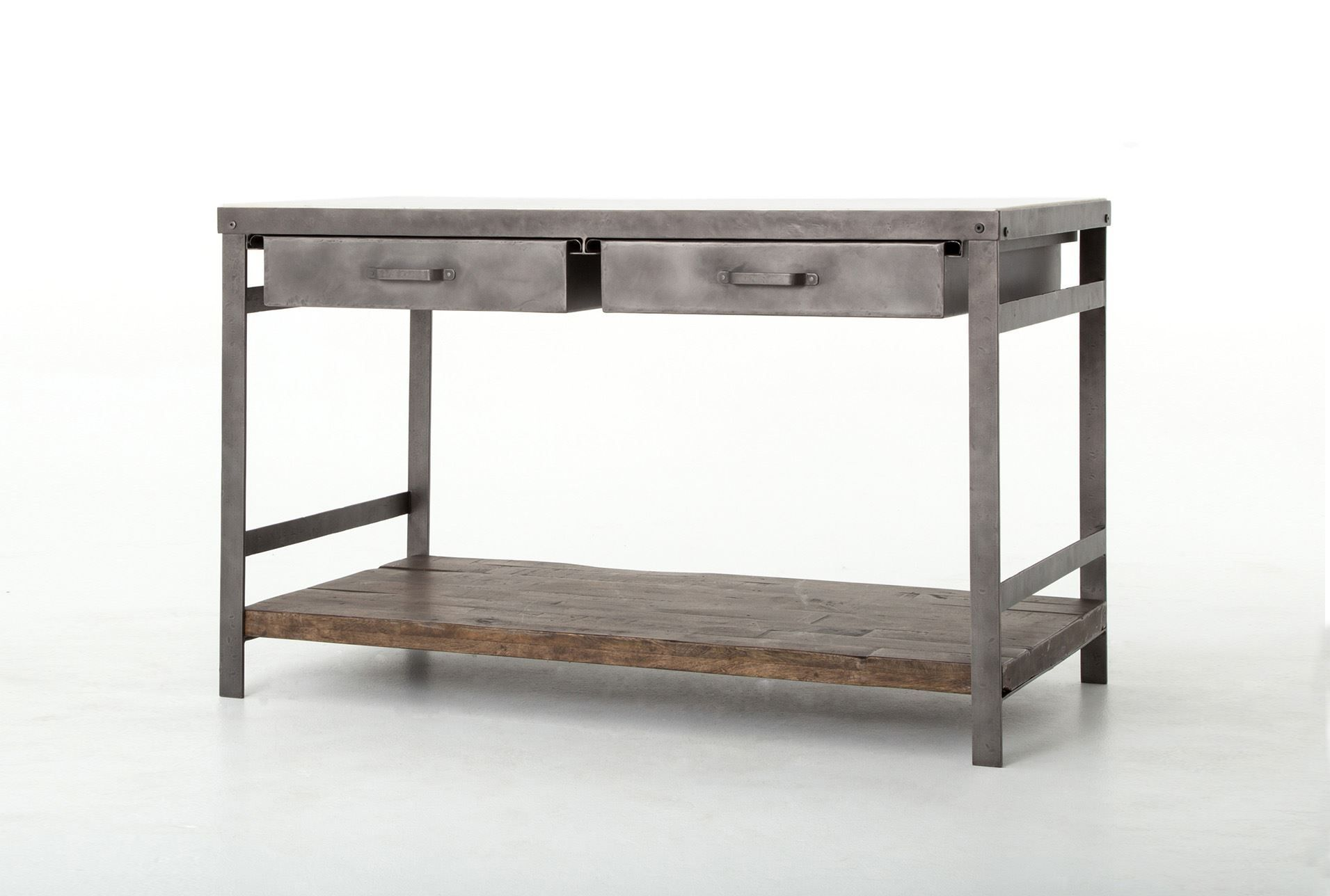 Mango Wood & Iron Kitchen Island | Iron, Woods and Kitchens
