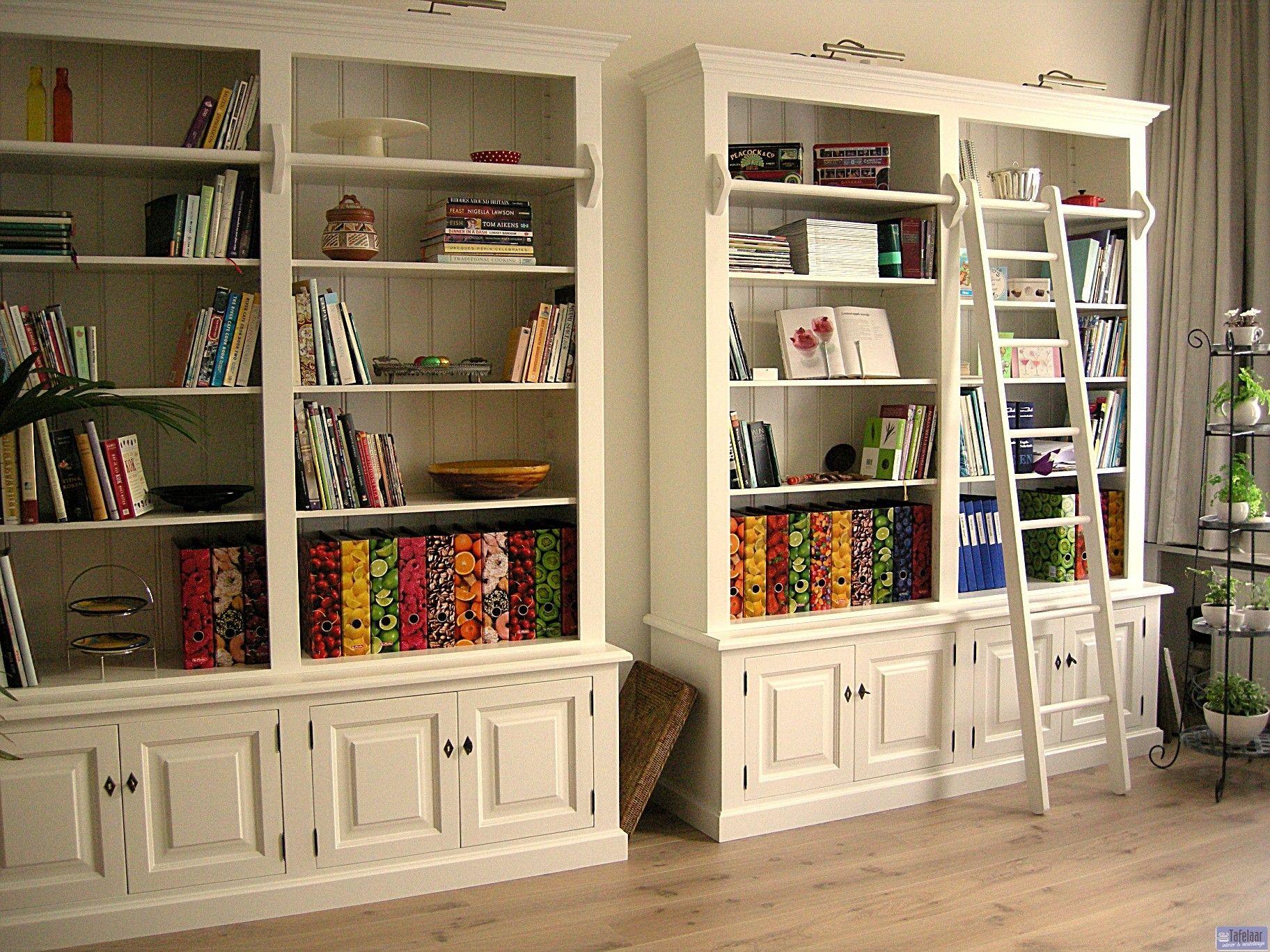 boekenkast klassiek verlichting - Google zoeken - boekenkast ...