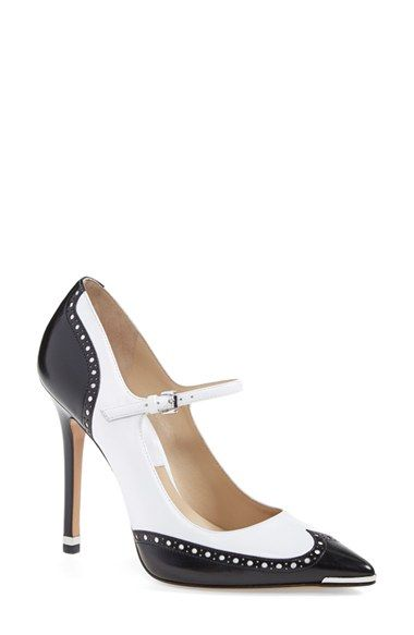 05108bce67 Michael Kors 'Angel' Wingtip Spectator Mary Jane Pump (Women) available at  #Nordstrom. Hello lover!