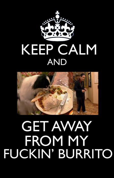 My effing burrito