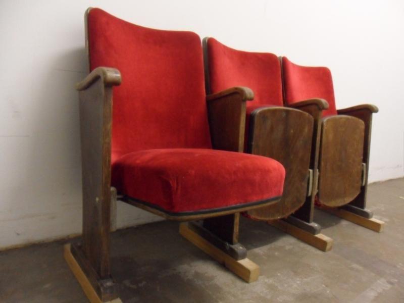 Alte Kinosessel Kinosessel Alter Sessel Sessel